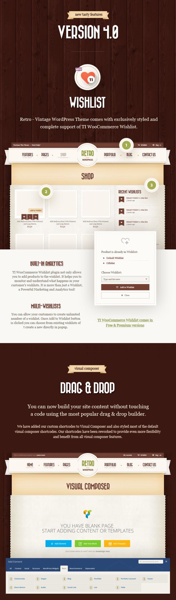 Retro - Vintage WordPress Theme - 2
